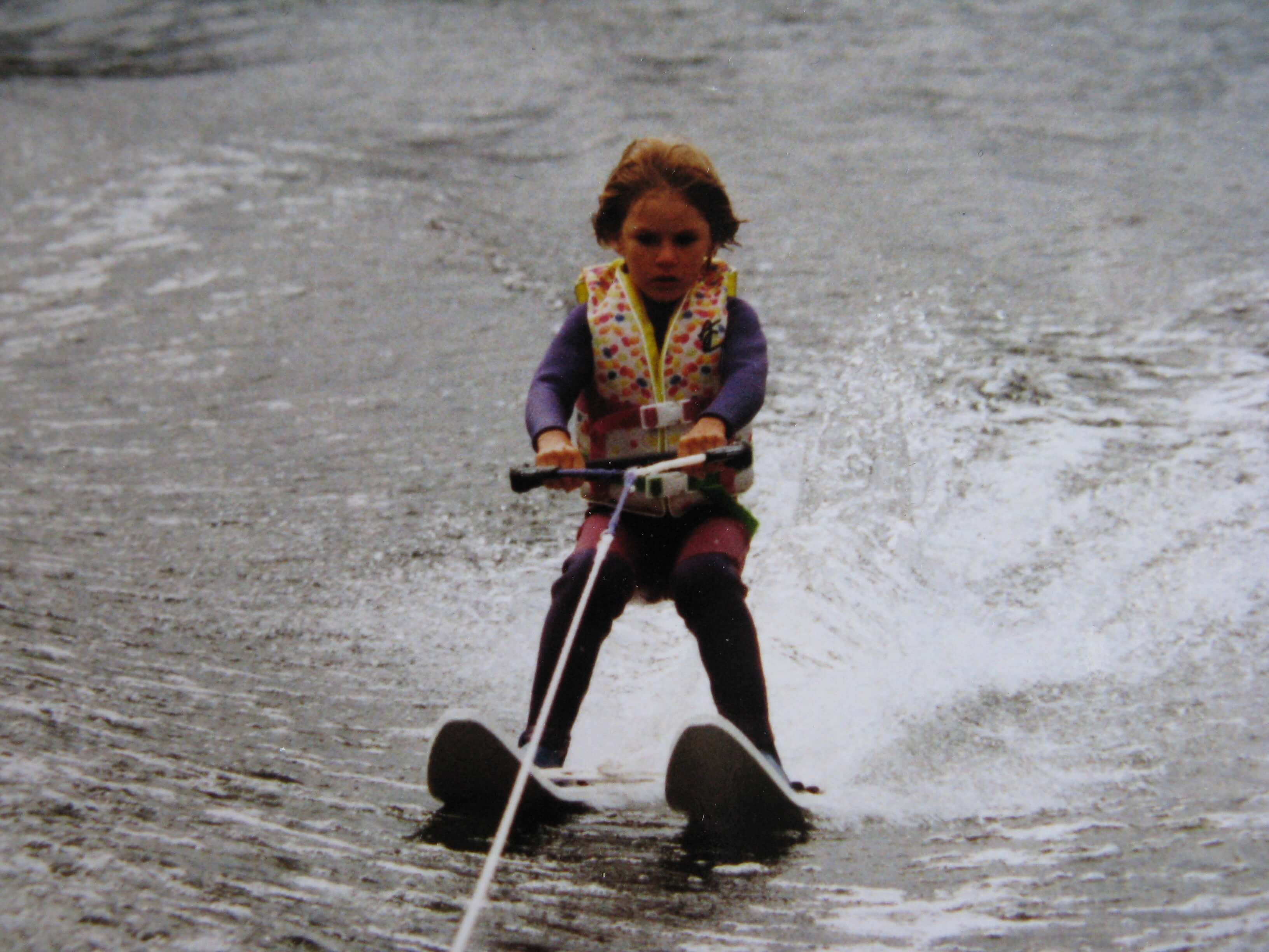 Fairford Water Ski Club Kids skiing