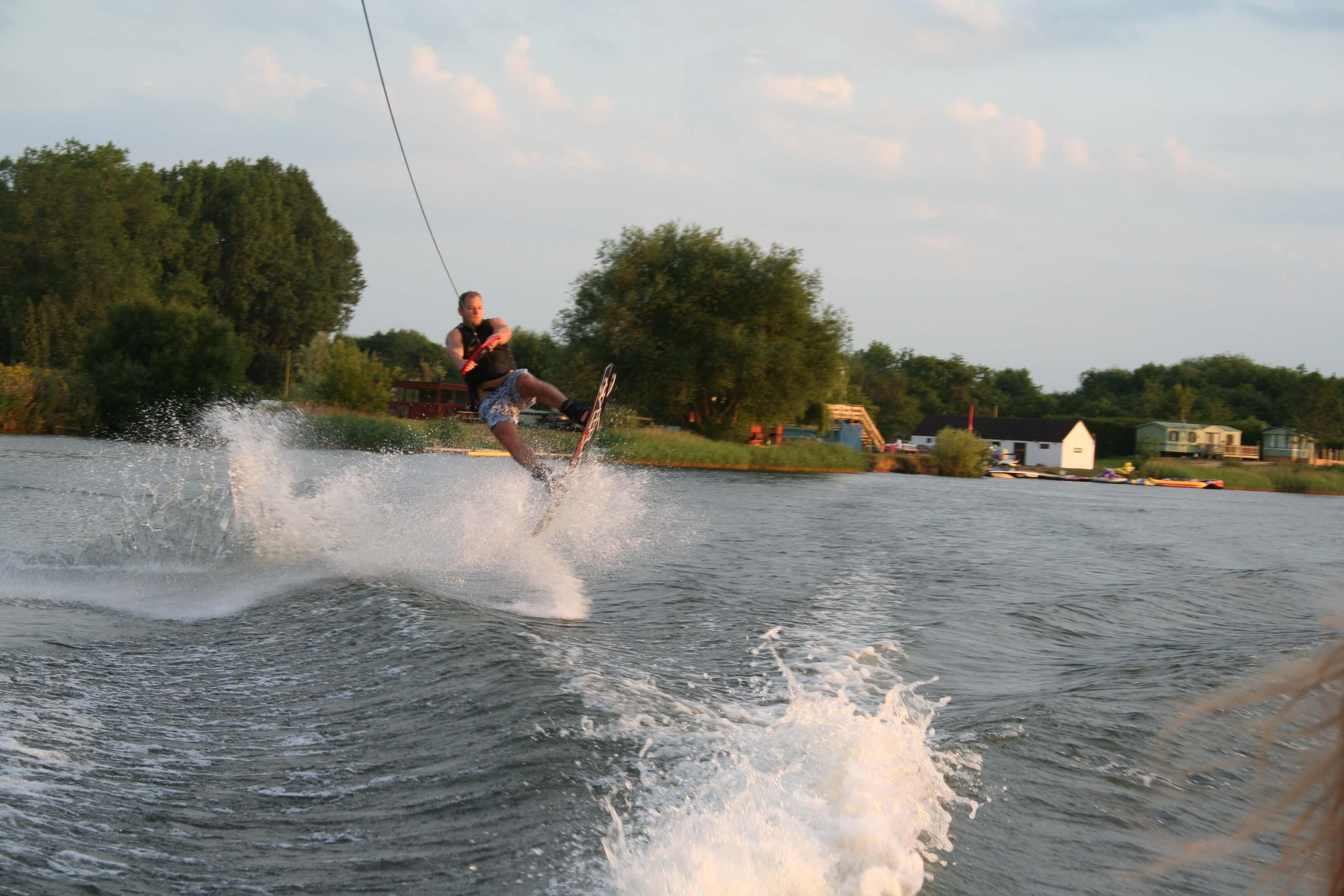 Fairford Waterski club Wakeboarding